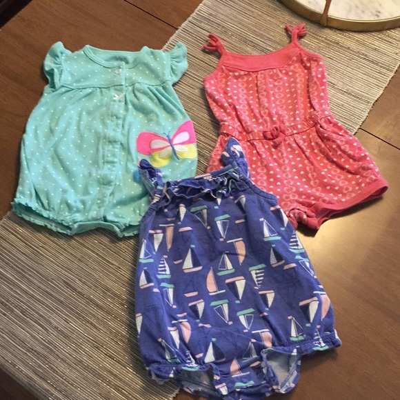 Next Girls Summer Romper Size Up To 3 Months Girls' Clothing (0-24 Months)